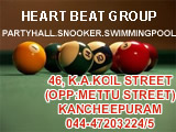 Heart Beat Group, Party Hall, Snooker, Swimming Pool, Entertainment Center, Games.