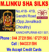 M.Linku Sha Silks, Linku Sha Silks, M.Linku Sha, Munugappattu Dr.Puratchi Thalaivar M.G.R. Silk Hand-loom Weavers Co-op Society Ltd V.H.41, Dr.Puratchi Thalaivar M.G.R. Silk, M.G.R Silks, Co-Op Society Ltd, Society, Silk Sarees Society, Government Approved Society,